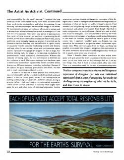 Activist Brochure, page 2