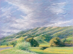 Hills and Clouds, San Geronimo Valley