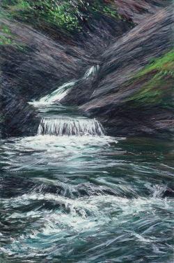 Winter Falls I