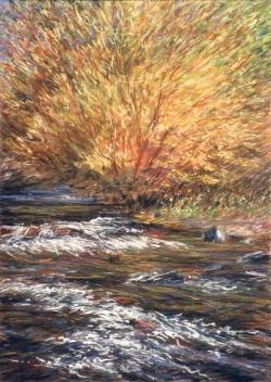 October Willows, Bishop Campground